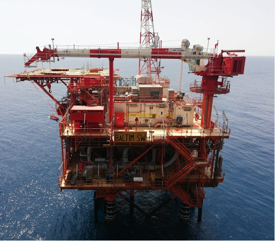 PMS provides an honorable model in the completion of the transportation and installation of the Baltim platform for Petrobel